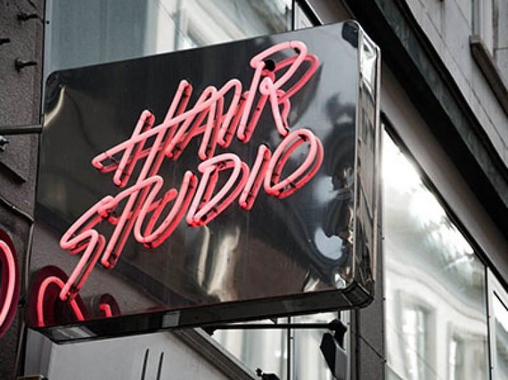 Hairdressing salons studios